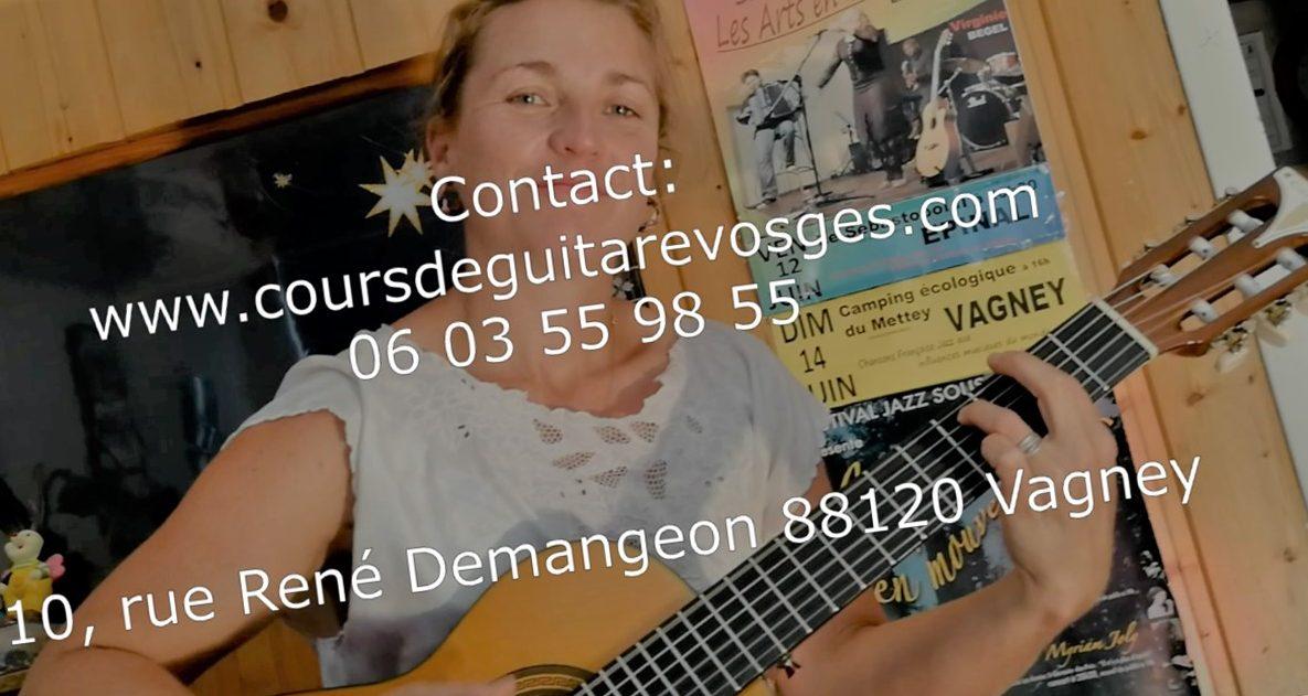 Cours  de  guitare  Vosges